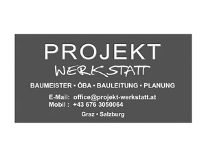 Plane Projekt Werkstatt ÖBA